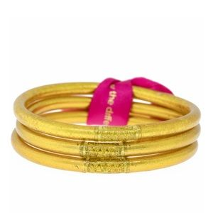 Budhagirl gold bangles set of 3